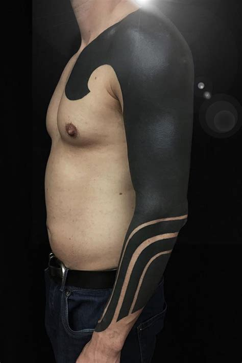 a brief history of blackwork tattoos modern body art
