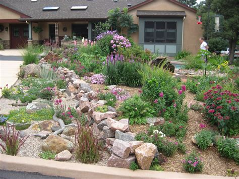 rock front yard habitat awards residential gardens part ii