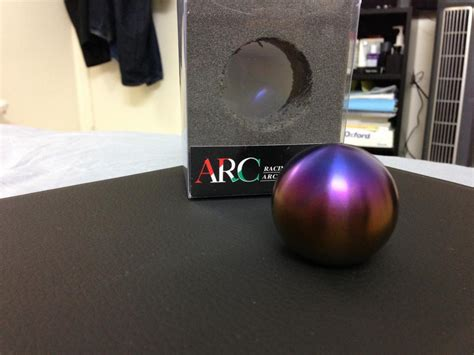Arc Titanium Shift Knob by For Sale Arc Brushed Burnt Titanium Shift Knob Myg37