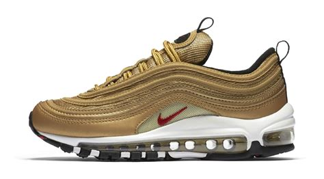 Nike Air Max 97 Gold 2017 gold nike air max 97 gs 2017 retro release date sole collector