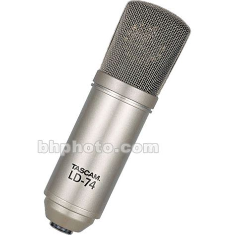 capacitor microphone ppt tascam ld 74 condenser microphone ld 74 b h photo