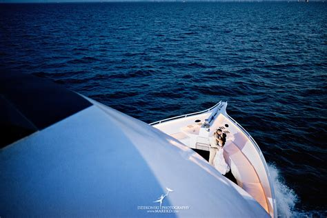 ovation boat margaret and matt s wedding cruise on ovation yacht in st