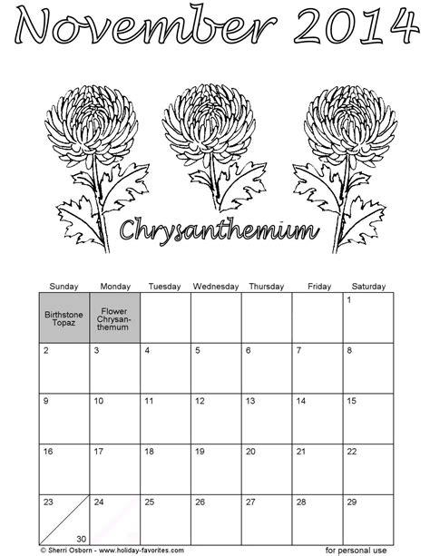 November 2014 Calendar Template – Image Gallery November 2014 Calendar