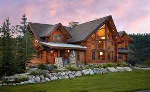 modern log cabin homes charming log residence in colorado unveiling spectacular