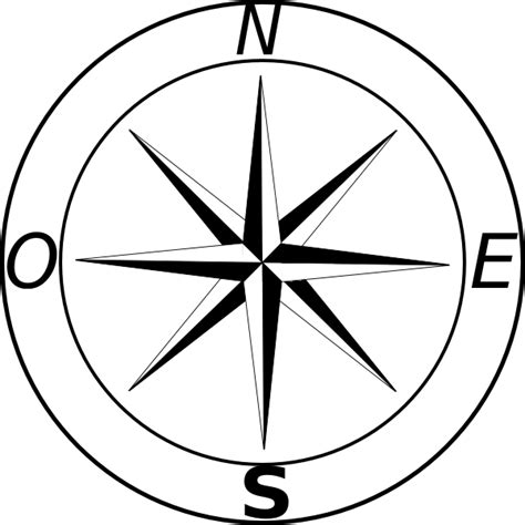 Line Drawing Compass Clipart Best | line drawing compass clipart best