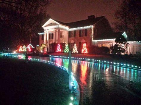 graceland memphis christmas lights 17 best images about elvis graceland on pinterest