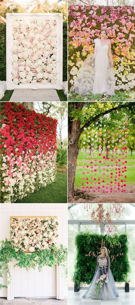 Outdoor Flower Decorations by Best 25 Flower Wall Decor Ideas On Diy Wall