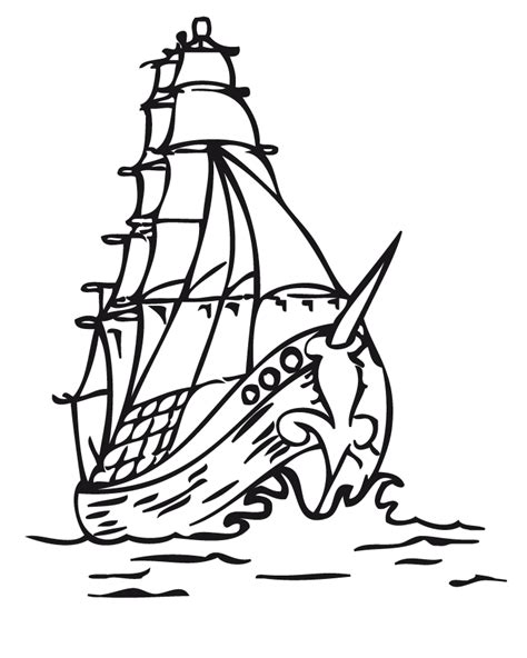 barco español dibujo gale 243 n espa 241 ol dibujalia dibujos para colorear