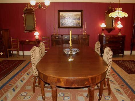 solid mahogany dining room table gates antiques ltd