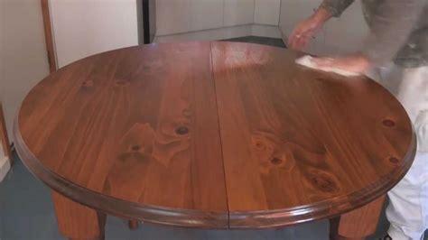 apply scandinavian oil  teak oil  wood