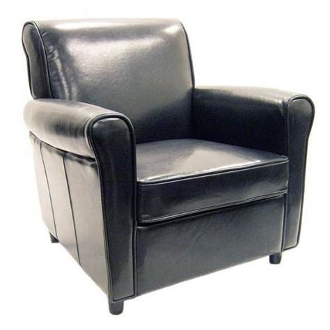Black Leather Accent Chair Black Leather Accent Chairs Decorating A Living Room
