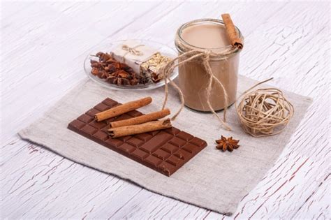 Cinnamon Sticks Detox by Brown Detox Coctail With Cinnamon Sticks And Chocolate Lie