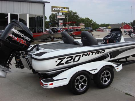 used nitro z20 bass boats for sale nitro z series z20 bass boats new in warsaw mo us