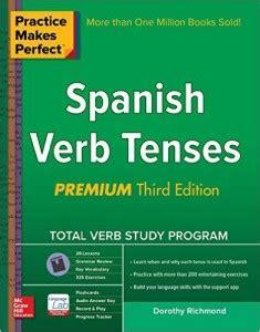 libro practice makes perfect spanish 6 libros para aprender espa 241 ol