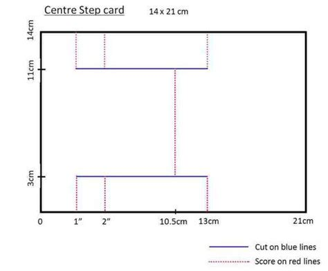 side stepper card template free 17 best images about step cards on memory box