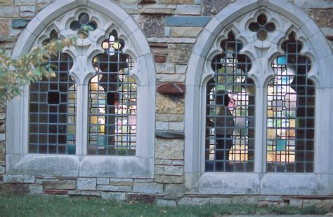 Arched Windows Pictures College Digital Archives Dlynx Pathway Between Trezevant And Townsend