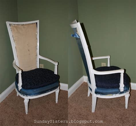 Diy Chair Restoration by Diy No Sew Burlap Chair Restoration Hardware Style