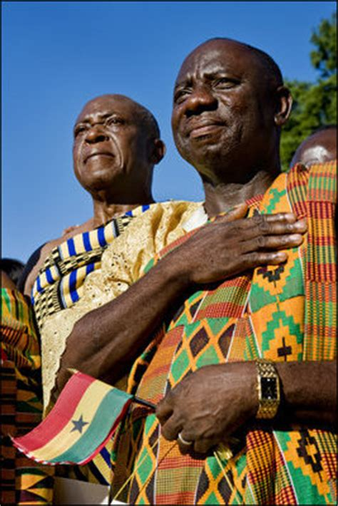 ghana african traditional outfit photo essay welcoming the president of the republic of
