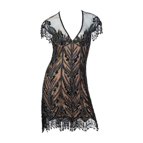beaded tops for evening wear sale bob mackie beaded dress for sale at 1stdibs