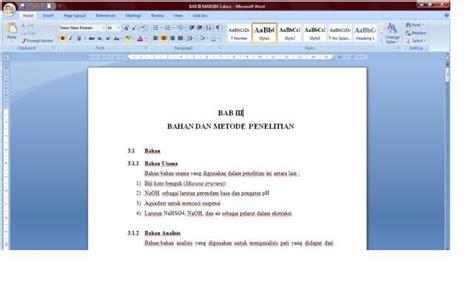uraikan langkah langkah membuat daftar isi otomatis cara otomatis memberi titik titik untuk daftar isi pada