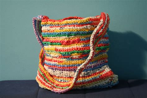 crochet pattern plastic bag tote 15 stunning plastic bag crochet projects