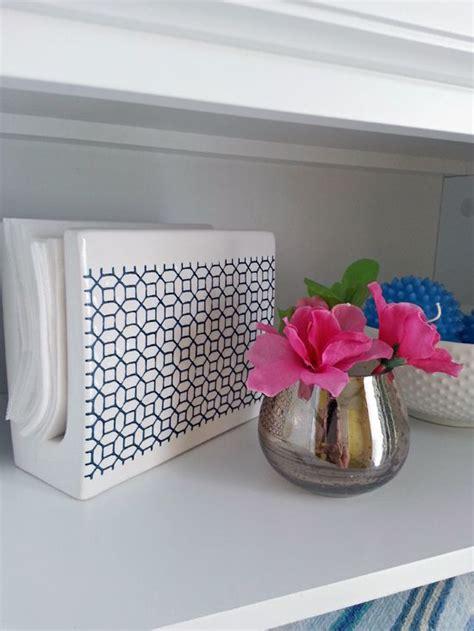napkin holder  dryer sheets iheart organizing