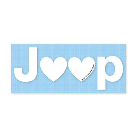 jeep heartbeat all things jeep jeep heart decal in white