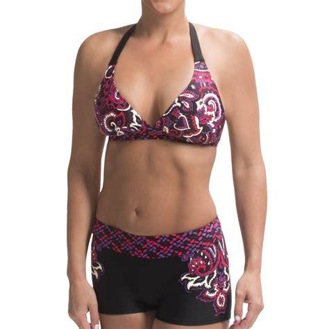 Boy Short Swimsuit Bottoms For Women | prana raya swimsuit bottoms for women save 54