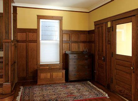 Craftsman Wainscoting Wainscoting Wood Wall Paneling And Search On