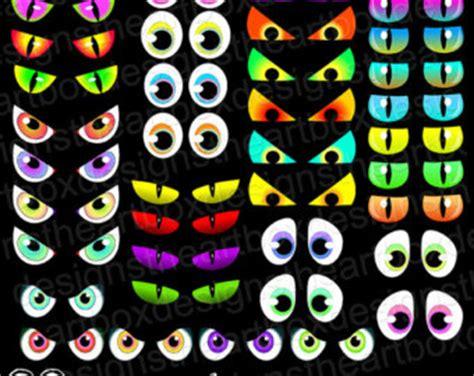 printable creepy eyes spooky eyes etsy