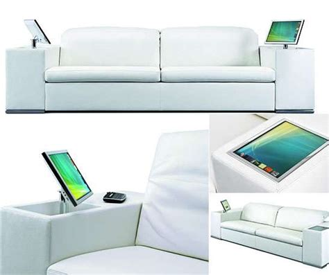 high tech couch luxury multimedia furniture athena sofa features an
