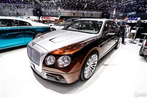 mansory bentley flying spur geneva 2014 mansory flying spur