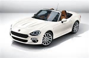 fiat new sports car fiat reveals new 124 spider sports car motoring news
