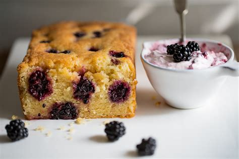 wild blackberry lemon cake blackberry fool cygnet