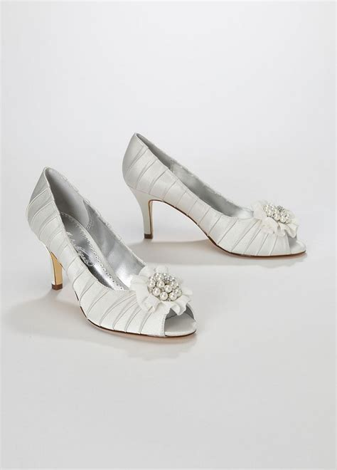david 039 s bridal wedding bridesmaid shoes charmeuse