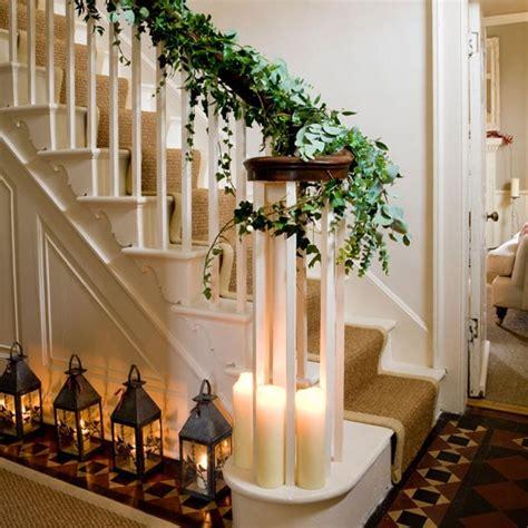 christmas themes for hallways hallway step inside this elegant georgian house tour