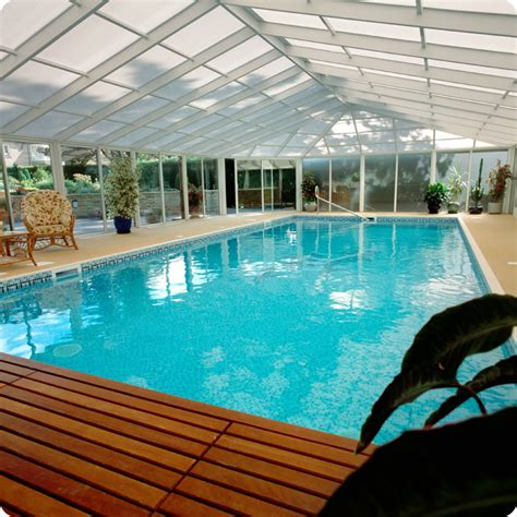 Enclosed Pool Designs | indoor pools