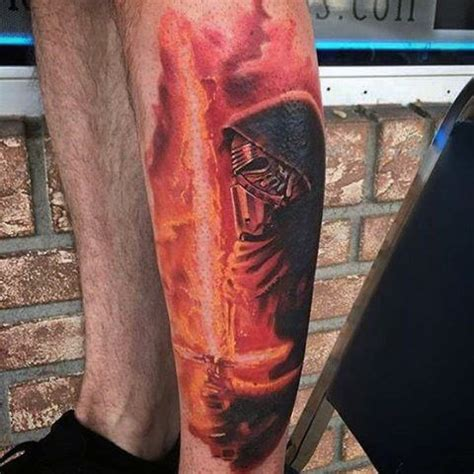 lightsaber tattoo glow in the dark 60 lightsaber tattoo designs for men star wars ink ideas