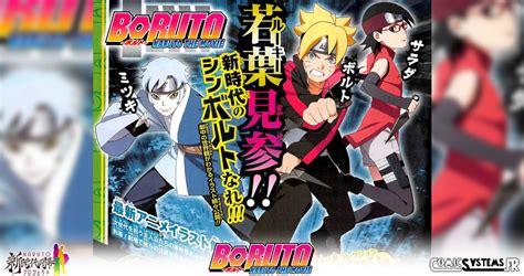 film naruto nouveau naruto le film d 233 voile des nouvelle 201 quipe 7 et nouveau konoha pour boruto le film