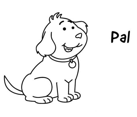 Coloring Pages Puppy Dog Pals Ideas