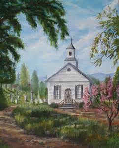Churches aaa churches church paintings oil painting old country