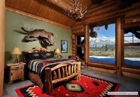 Log Home Decor Log Cabin Home Decor Bedrooms Bathrooms And