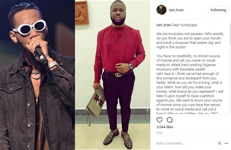 Petition Letter To Efcc Kcee Writes Open Letter To Hushpuppi Vows To Petition Efcc His Source Of Income Dope