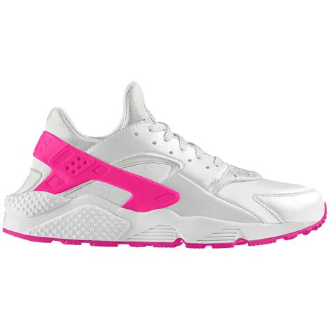 nike air huarache premium id s shoe in pink for lyst