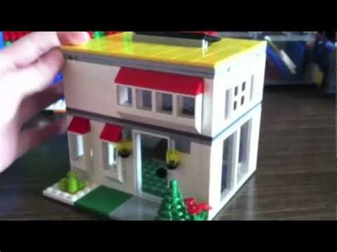 tutorial lego house lego mini house 1 youtube