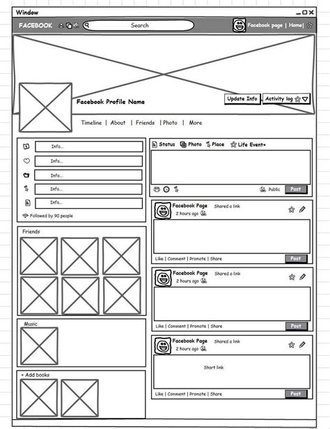 social network profile template 100 social network profile template social media marketing