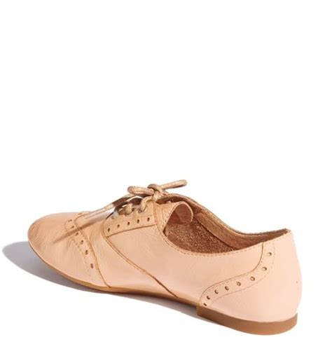 light pink oxford shoes b 248 rn ibis oxford in pink light pink patent lyst