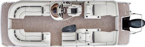 pontoon boat floor plans 2017 g23 stern radius pontoon boats by bennington