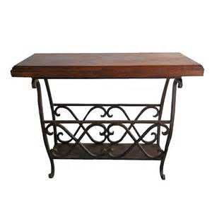 large accent table western furniture large mesquite scrollwork accent table