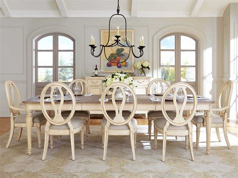used stanley dining room set value 0072136 in by stanley stanley furniture european cottage vintage white dining